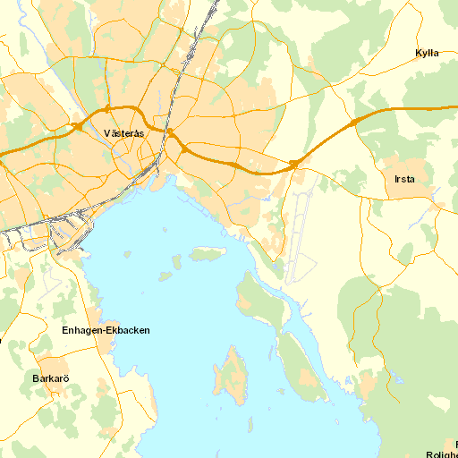 gamla kartor västerås